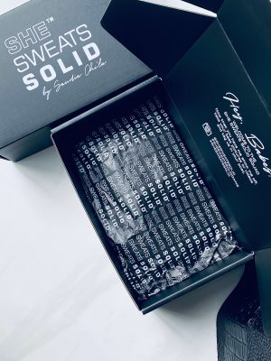 She Sweats Solid Exclusive Gift Box and Resistance Booty Band 2