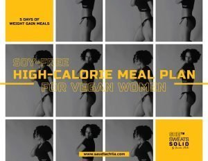 Soy-Free High-Calorie Meal Plan Cover
